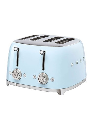 Smeg Pastel Mavi 1x4 Ekmek Kızartma Makinesi Mavi